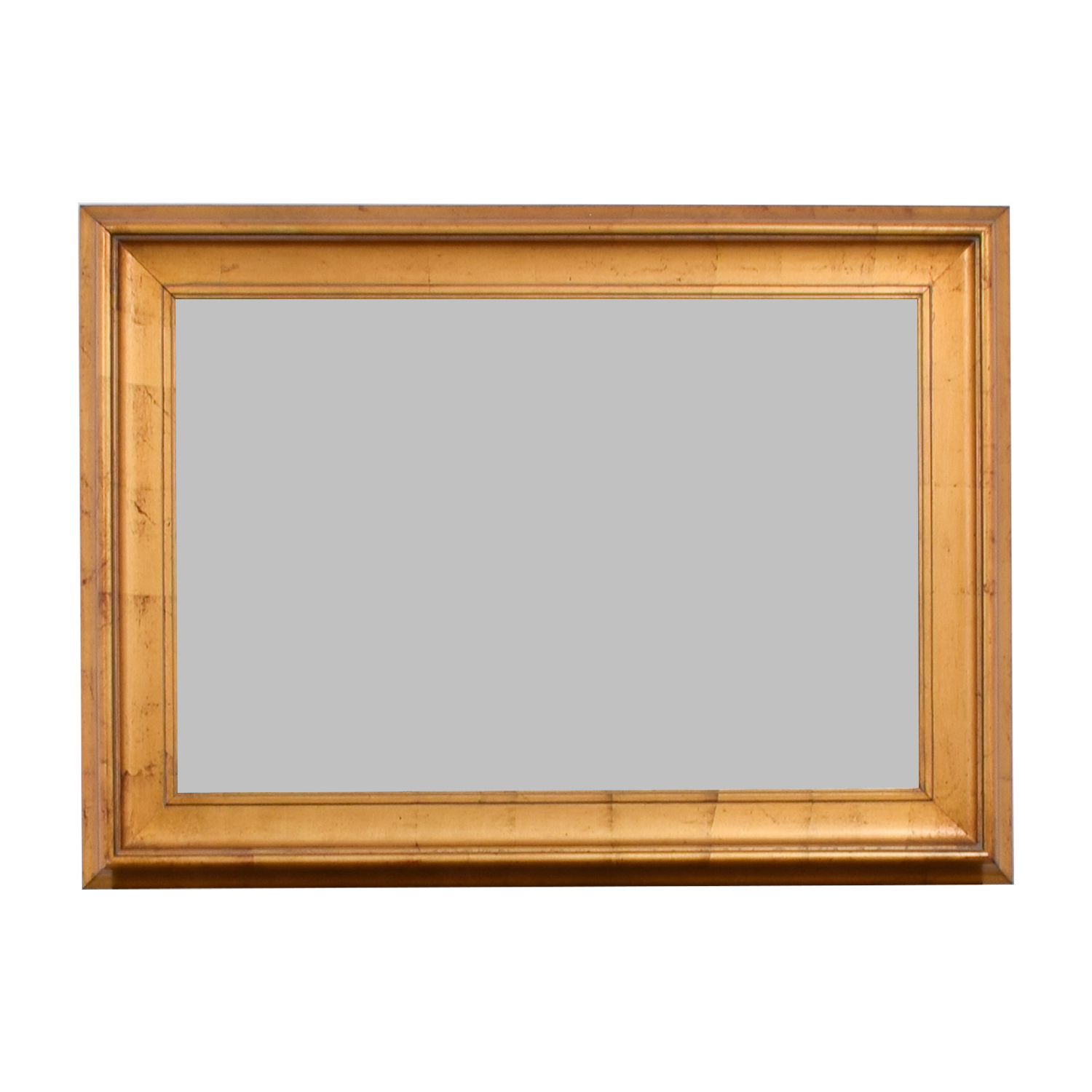Wood Framed Wall Mirror used