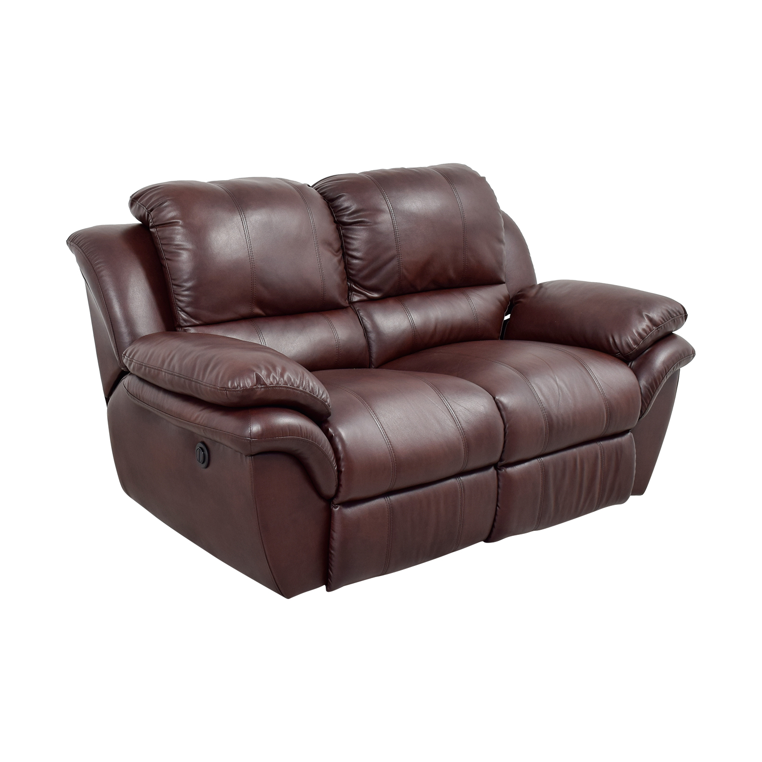 78 Off Bob S Furniture Bob S Furniture Brown Leather Recliner Sofas