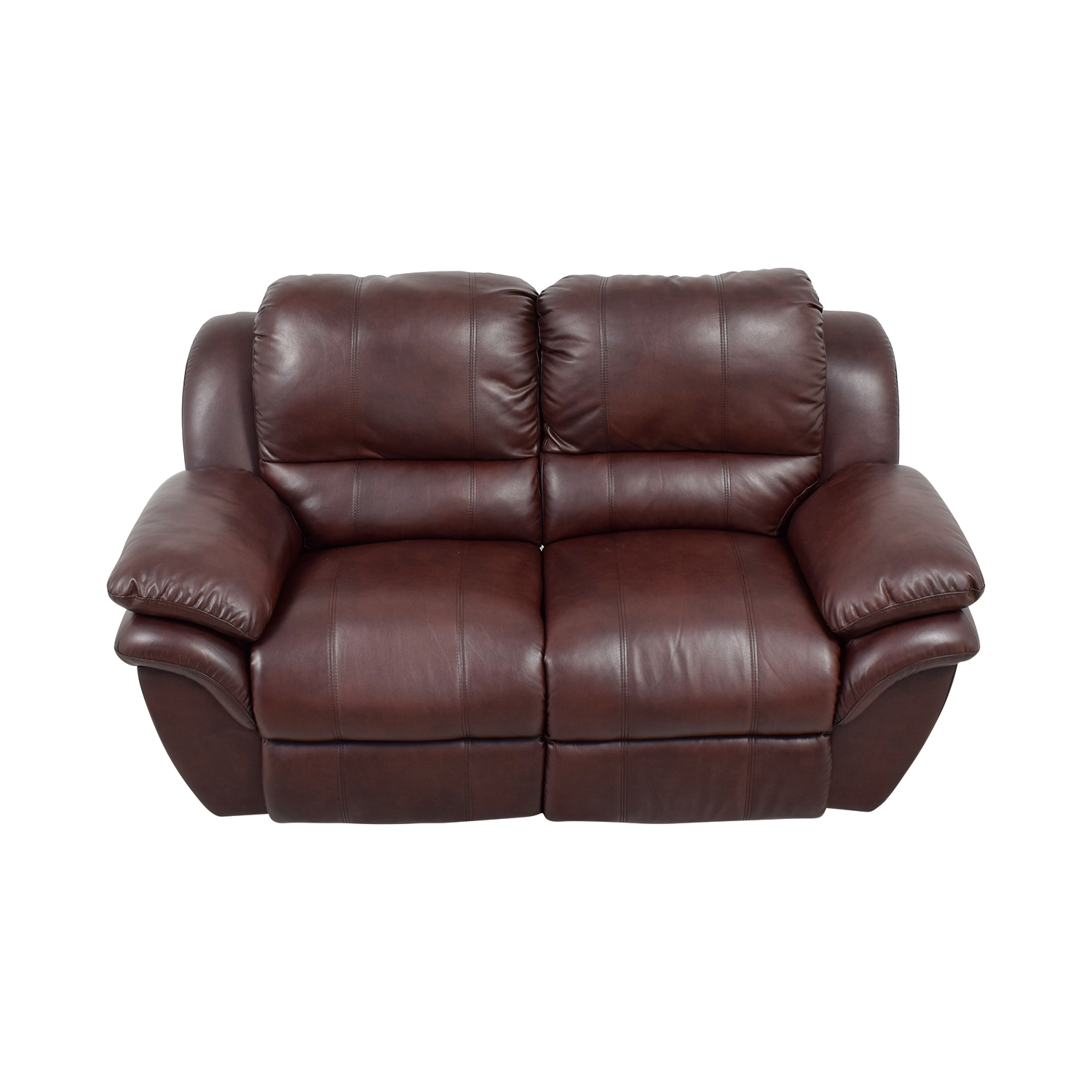 Bob's Furniture Bob's Furniture Brown Leather Recliner discount