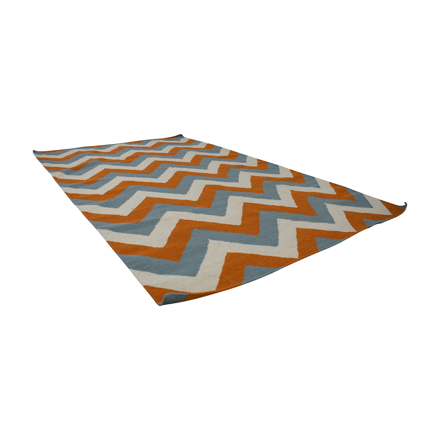 shop Pier 1 Pier 1 Blue Orange and Cream Rug online