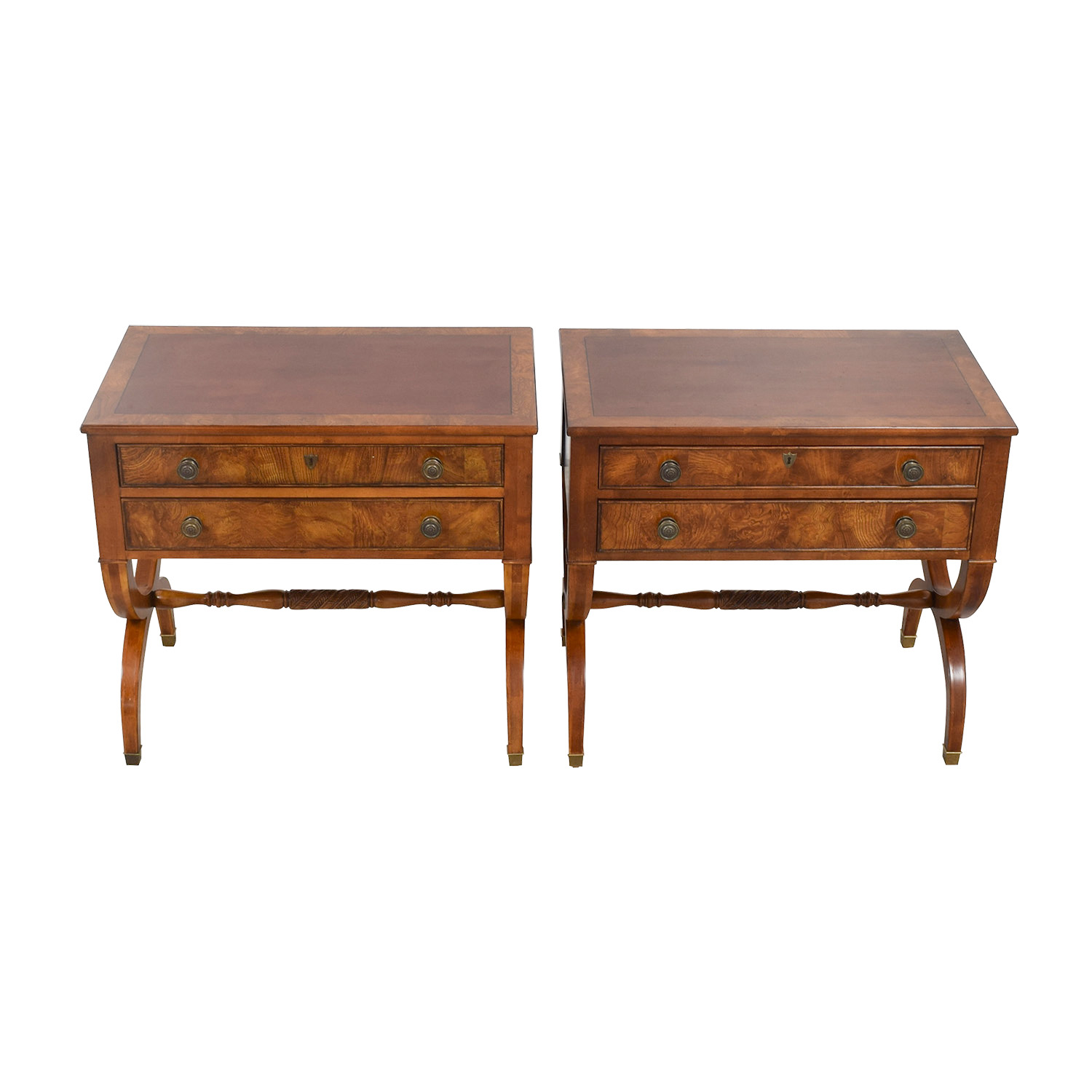 buy Ethan Allen Ethan Allen Connolly Two-Drawer Night Tables online