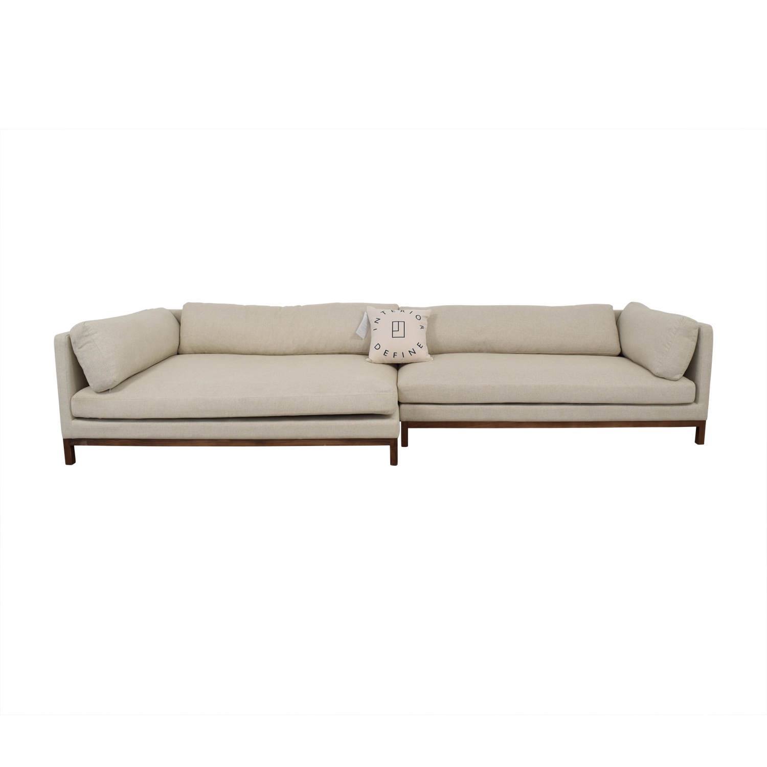 shop Jasper Left Chaise Sectional  Sofas