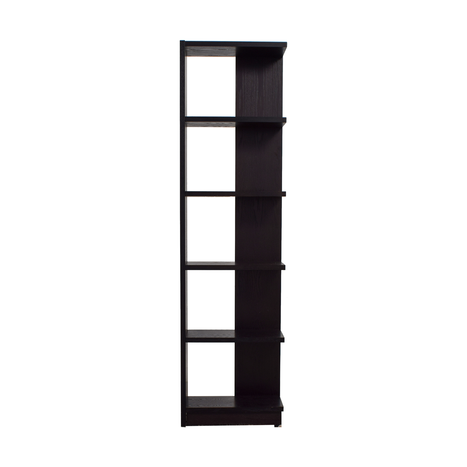 shop Crate & Barrel Asymmetric Bookcase Crate & Barrel