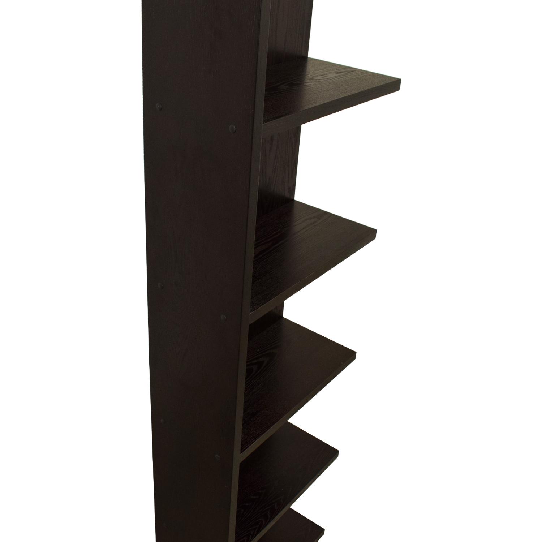 Crate & Barrel Asymmetric Bookcase Crate & Barrel