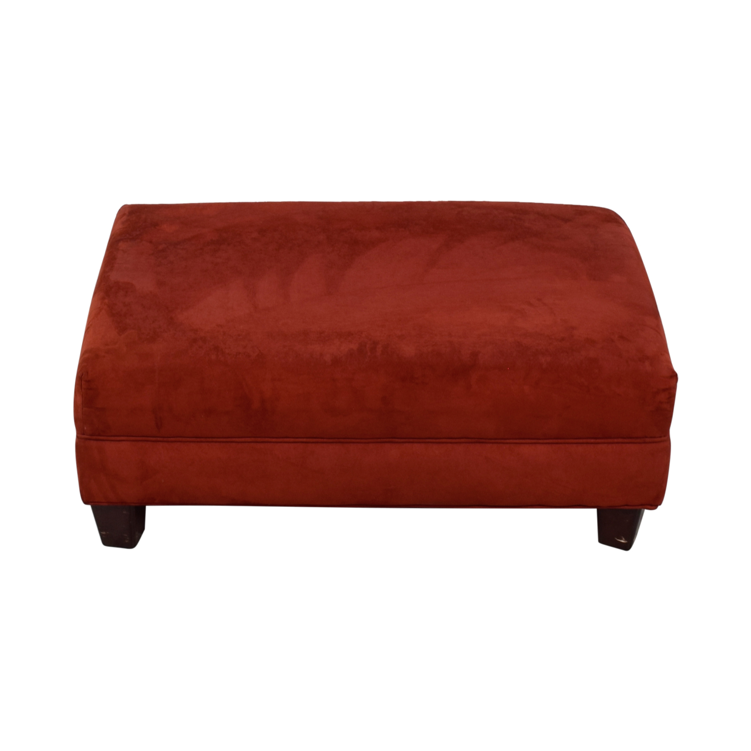 Red Ottoman on sale