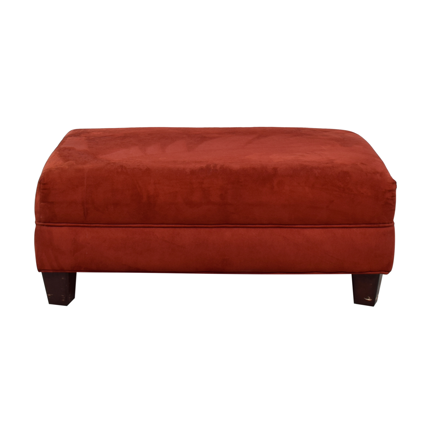 buy Red Ottoman