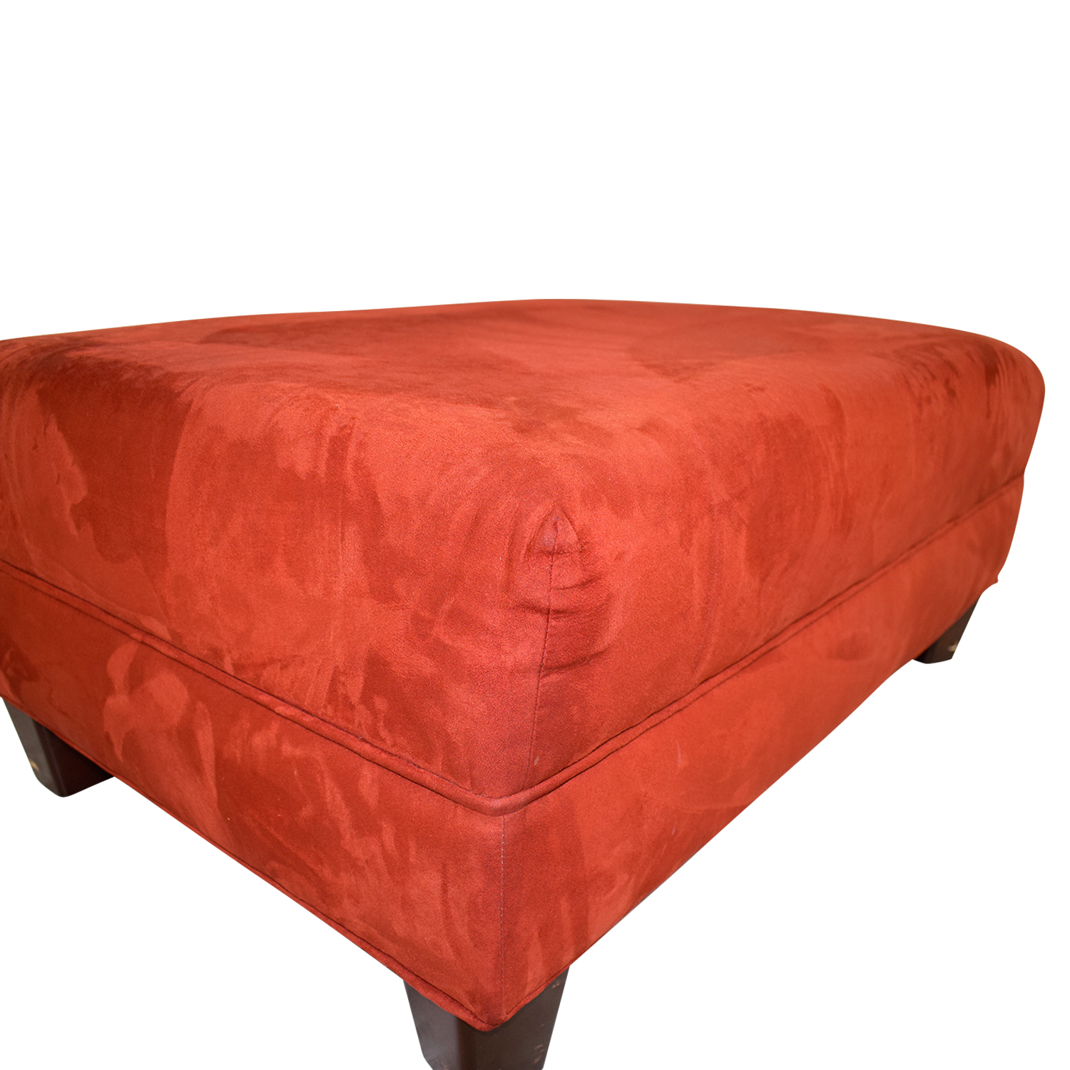 Red Ottoman used
