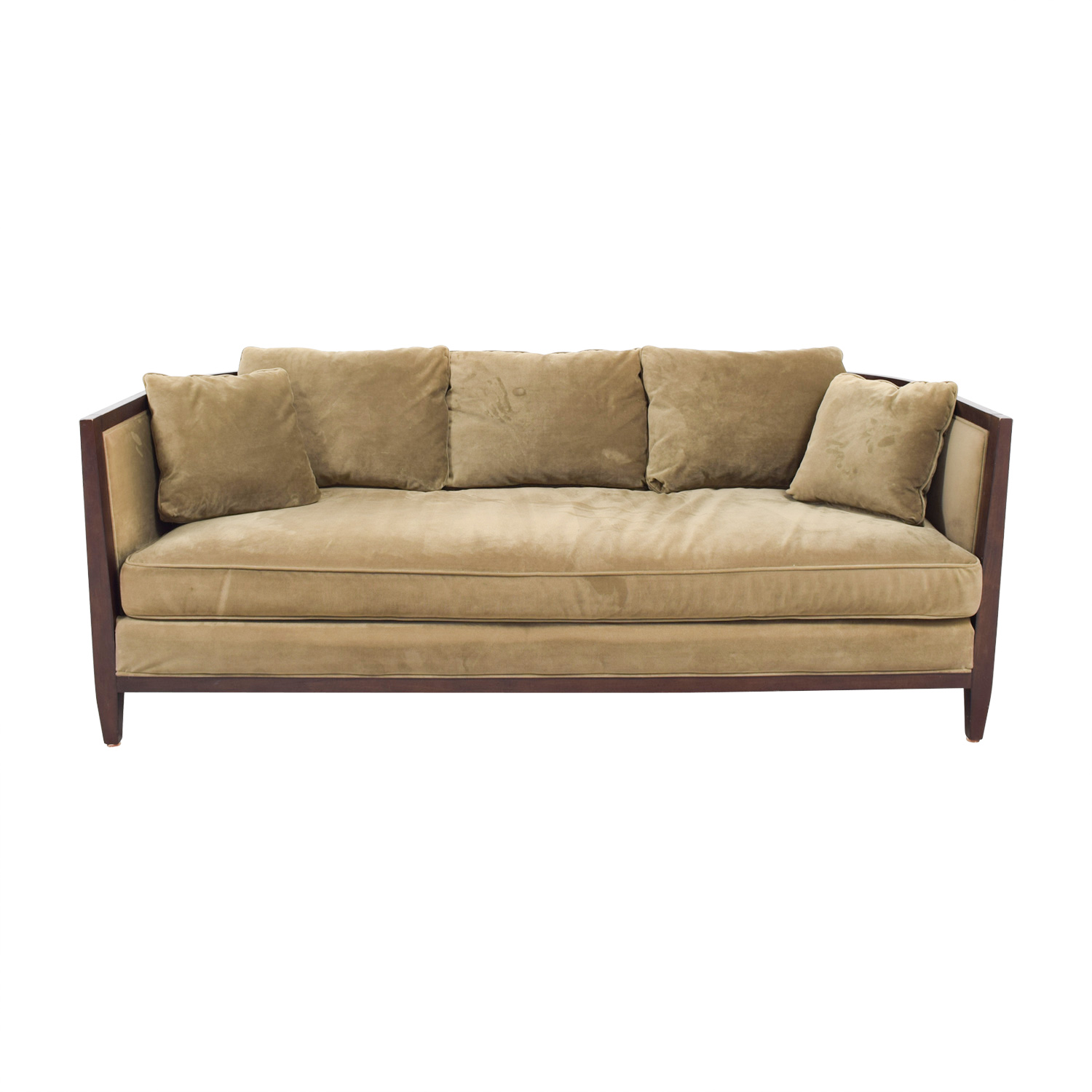 Buy Bloomingdales Brown Single Cushion Sofa Bloomingdales Sofas