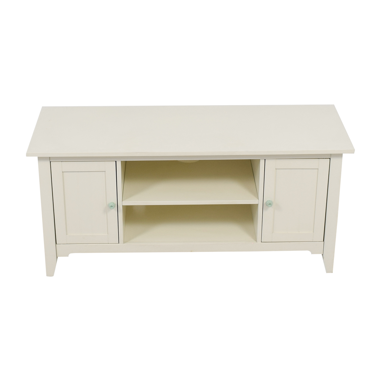 buy Shabby Chic White Entertainment Center  Media Units