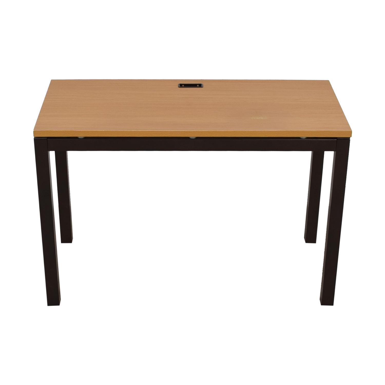 Bush Furniture Bush Furniture Wood and Metal Desk Tables