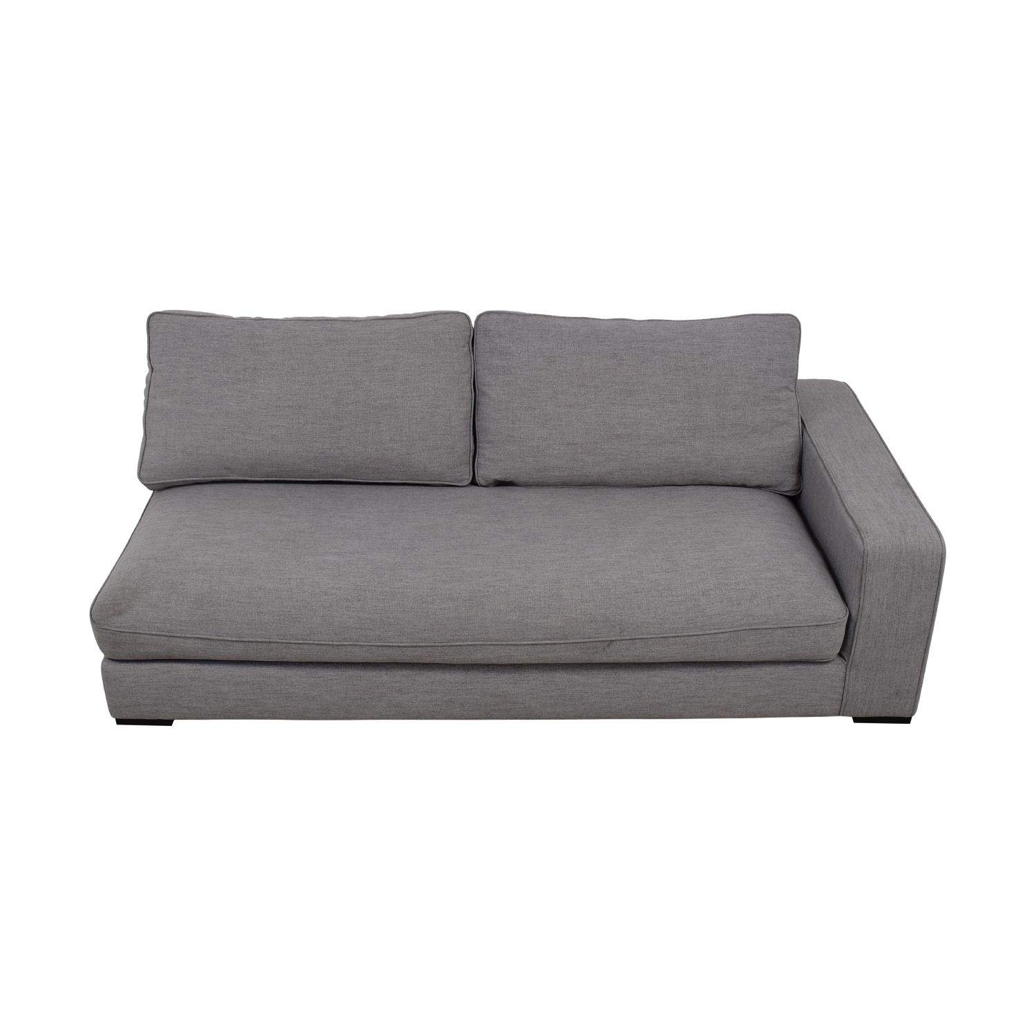 Ainsley Grey Left Arm Chaise discount