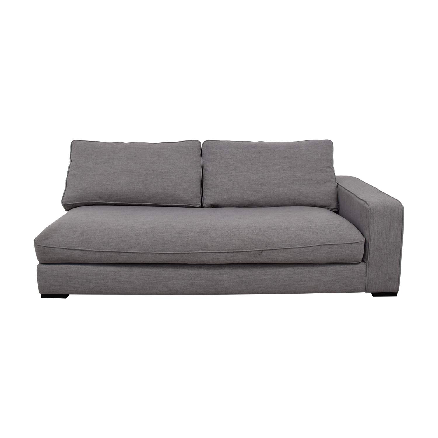 Ainsley Grey Left Arm Chaise