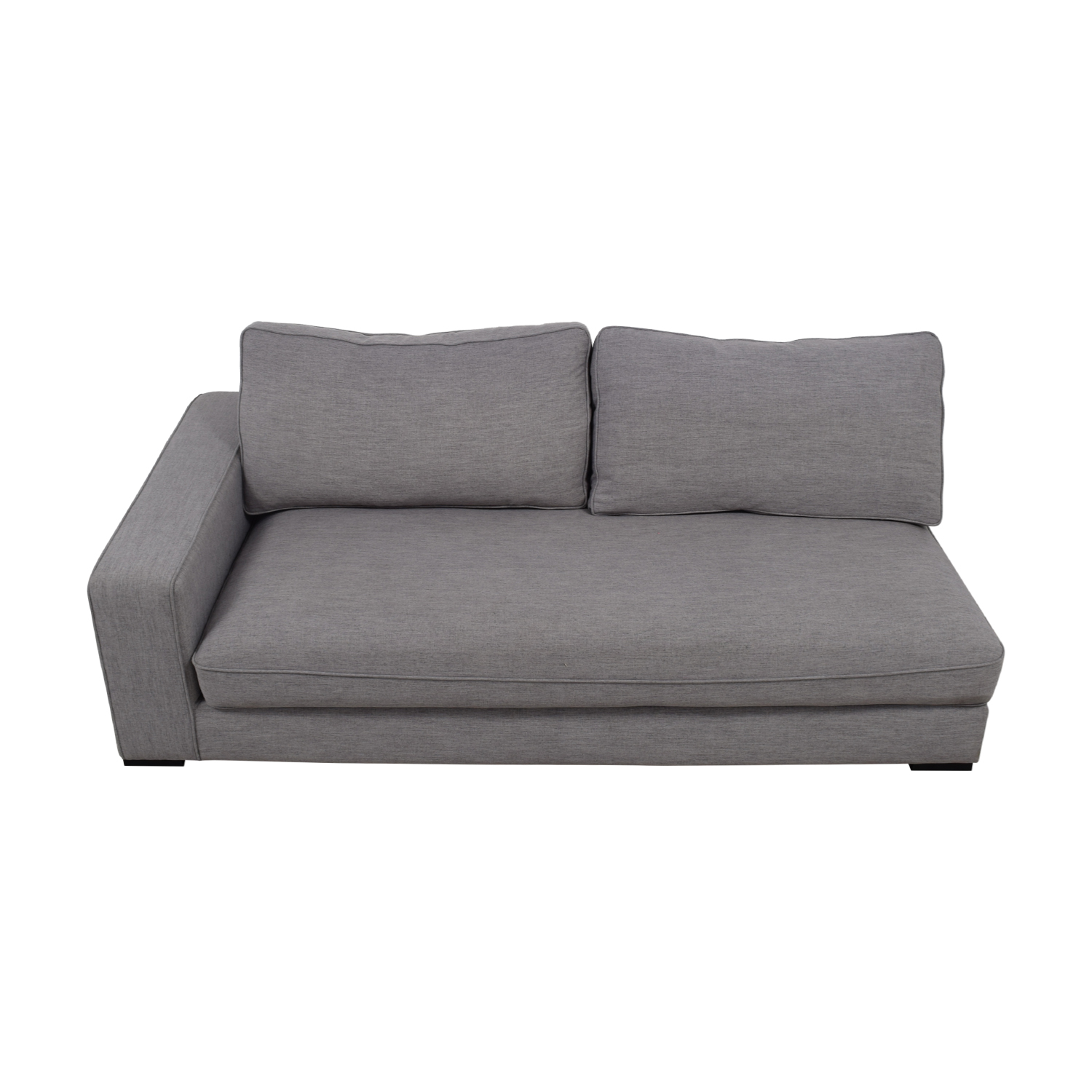 Ainsley Grey Right Arm Chaise nj