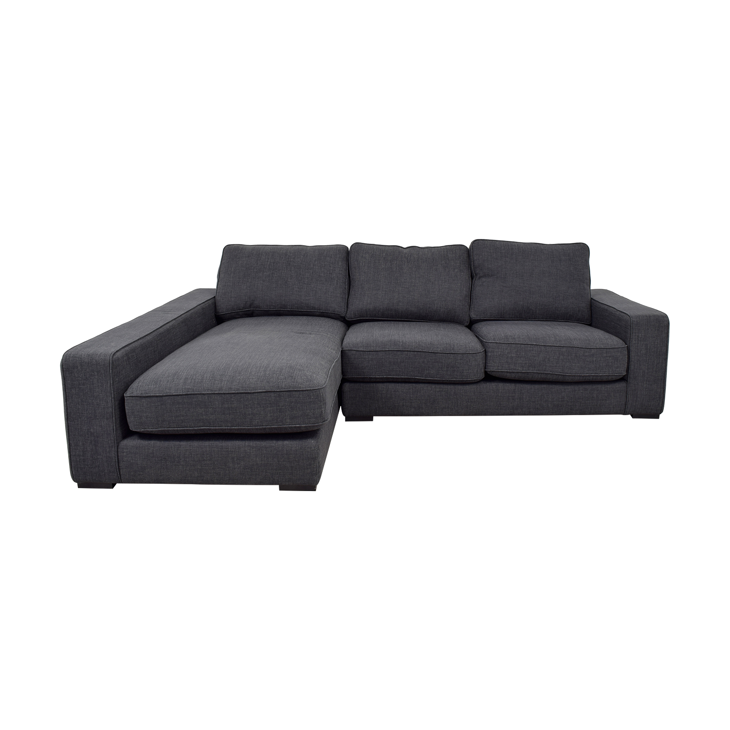 Ainsley	Pebble Weave Left Chaise Sectional sale