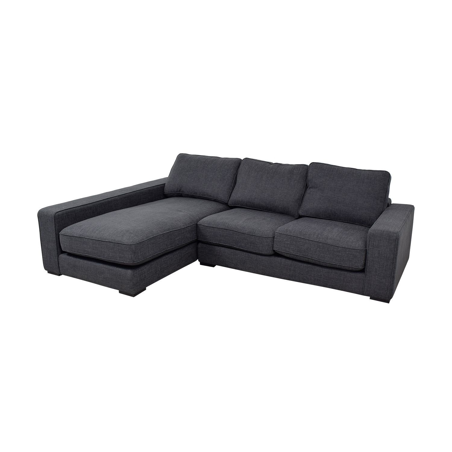 buy Ainsley	Pebble Weave Left Chaise Sectional  Sectionals