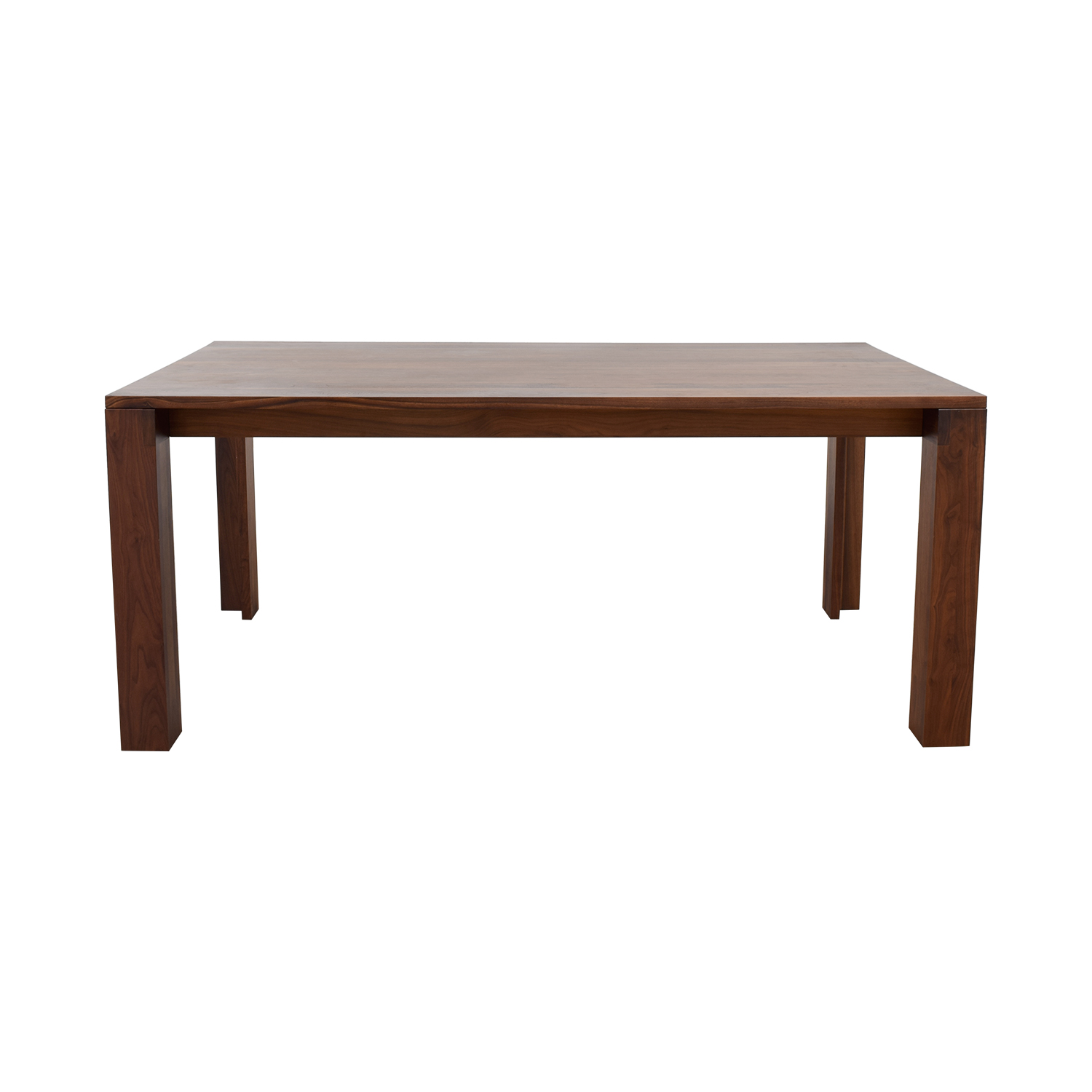 buy DWR Solid Walnut Dining Table Design Within Reach Tables