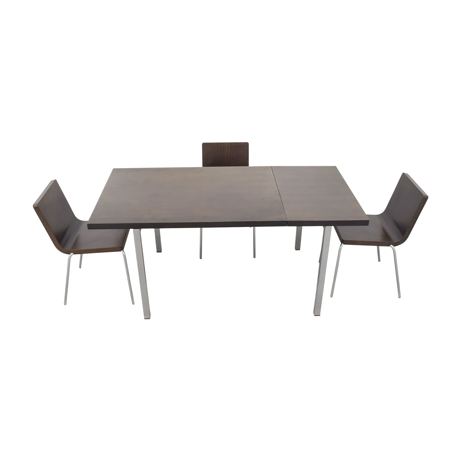 shop Wood and Metal Dining Set  Dining Sets