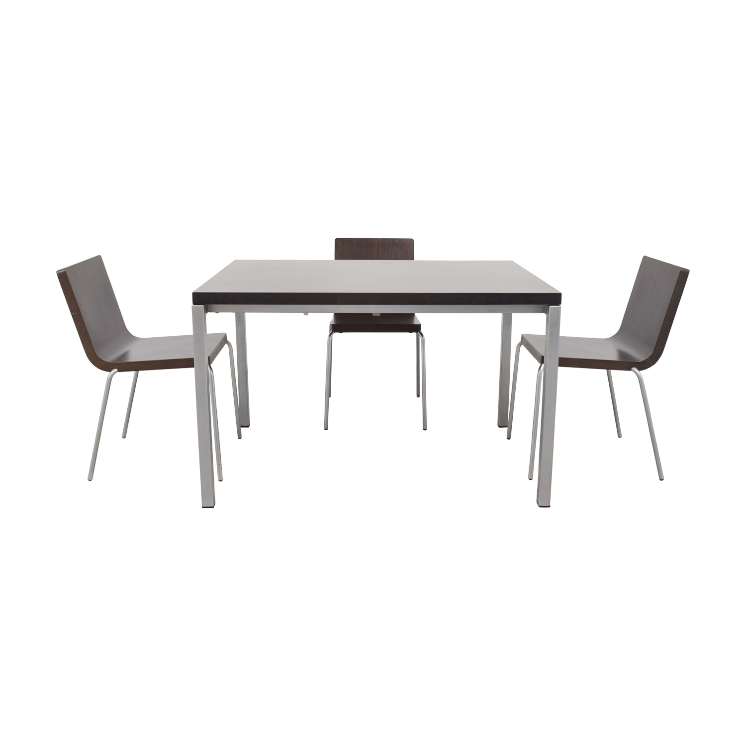 Wood and Metal Dining Set / Dining Sets