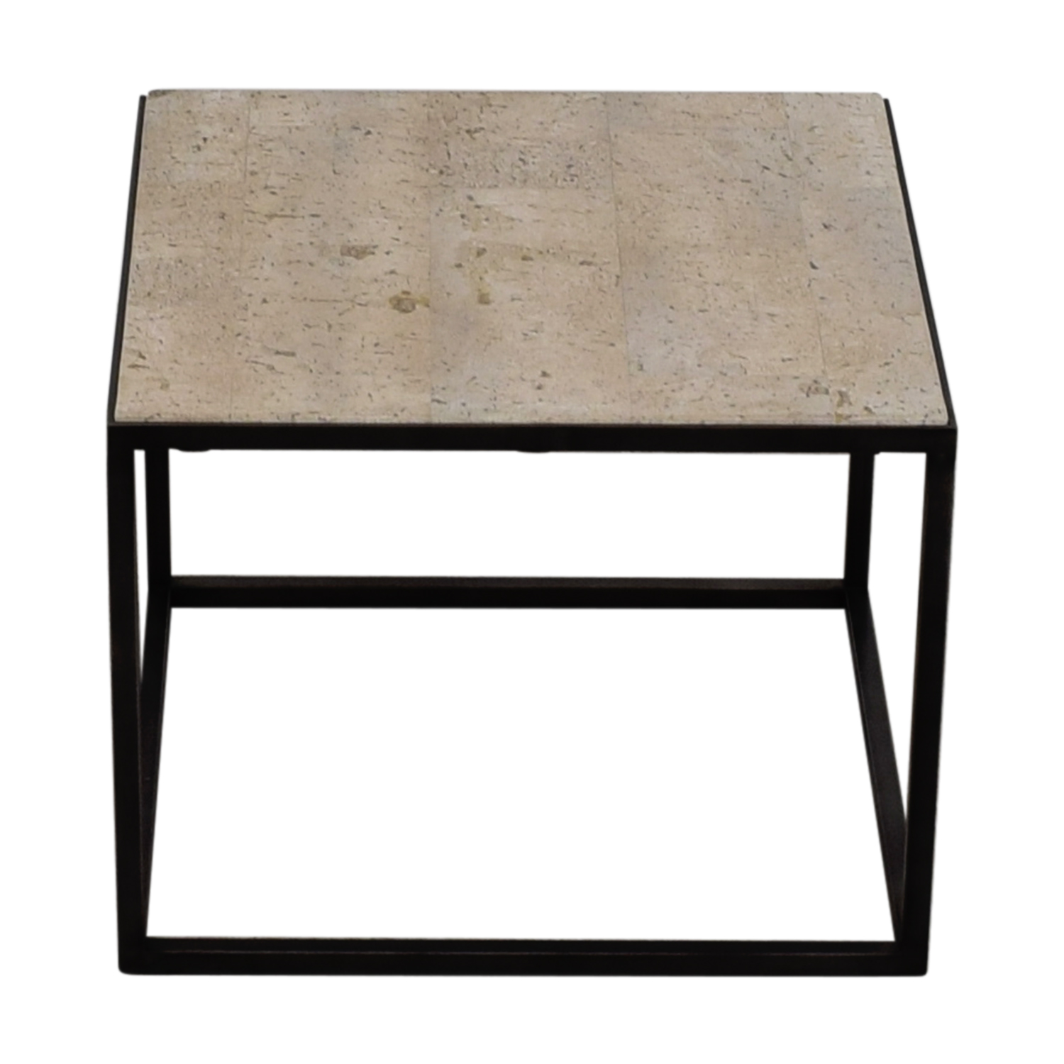 White and Black End table for sale