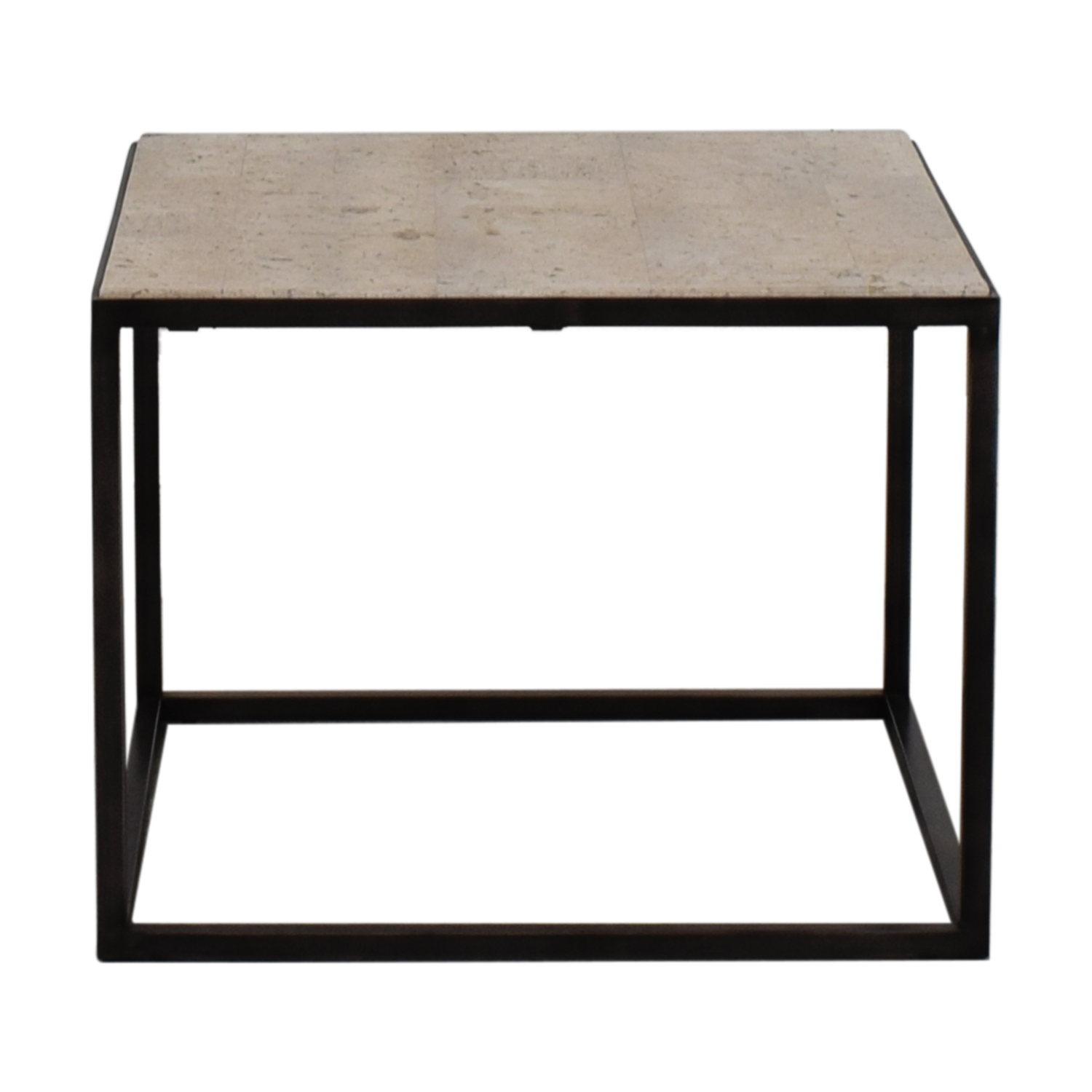 White and Black End table sale