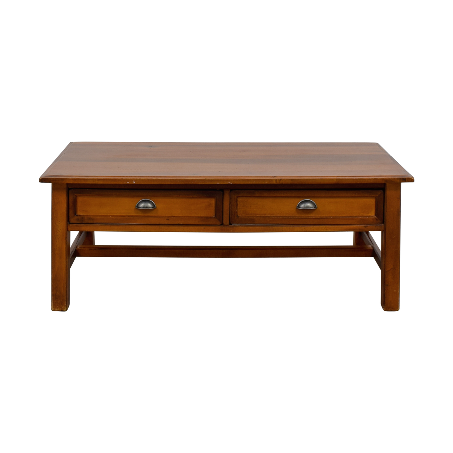 shop Two-Drawer Wooden Coffee Table  Coffee Tables