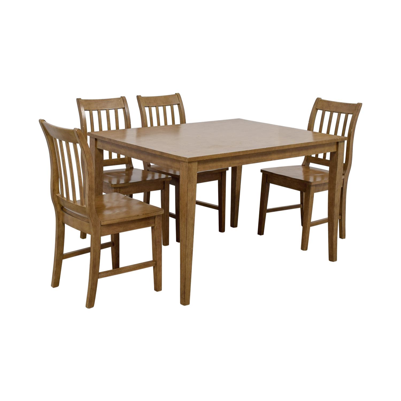 56% OFF - Target Target Brown Kitchen Table Set / Tables