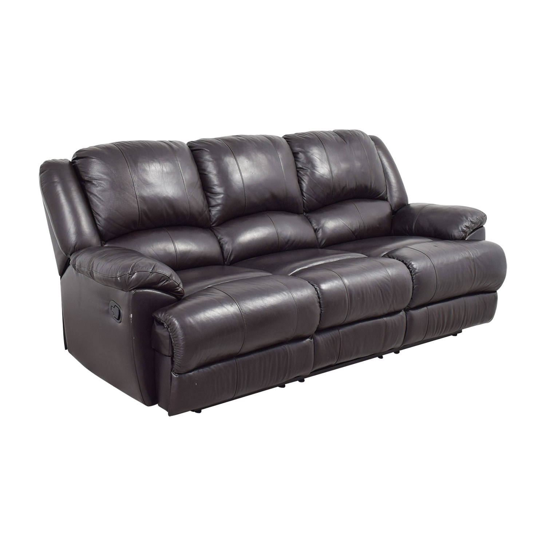 76 Off Ashley Furniture Ashley Furniture Black Leather