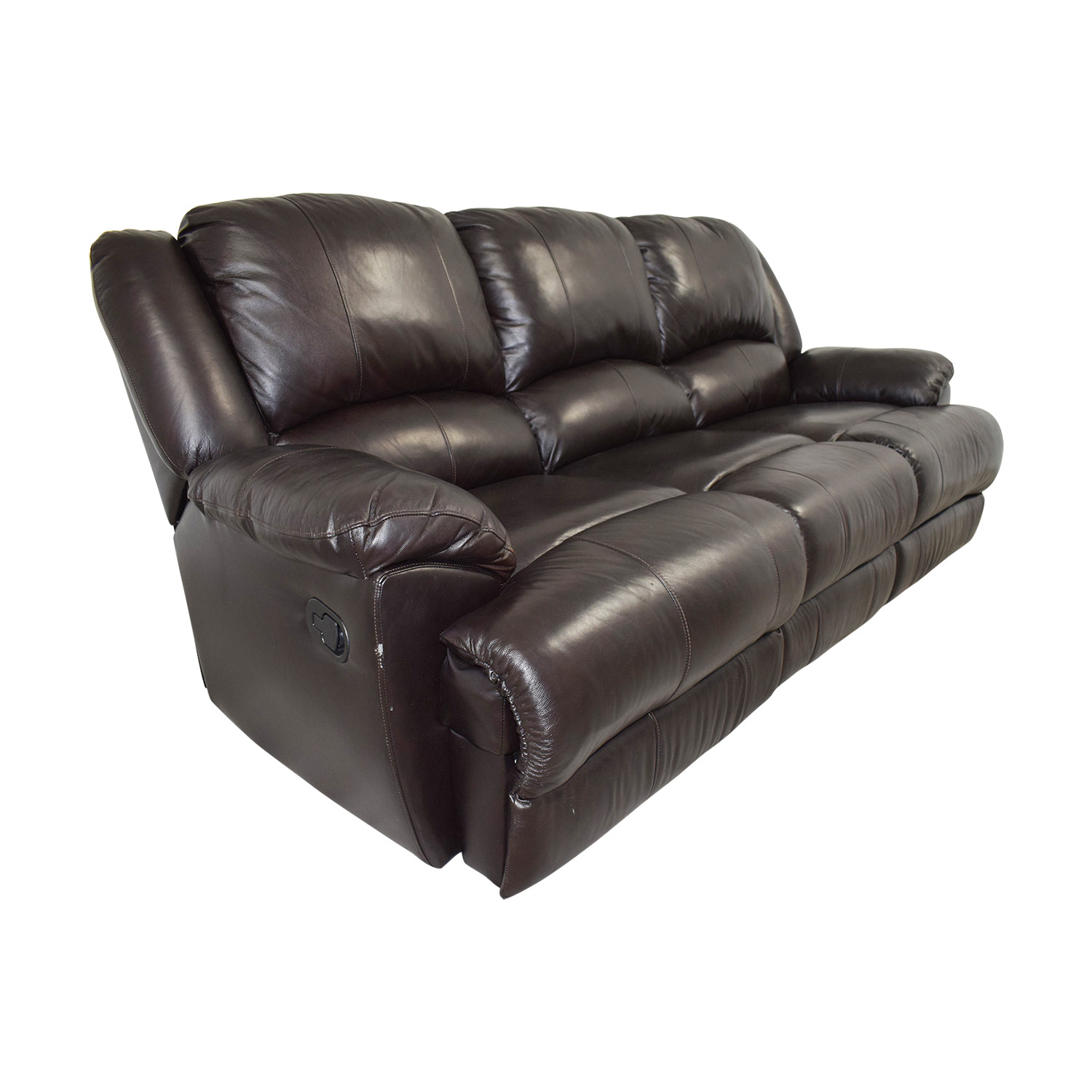Remarkable 76 Off Ashley Furniture Ashley Furniture Black Leather Reclining Couch Sofas Gmtry Best Dining Table And Chair Ideas Images Gmtryco