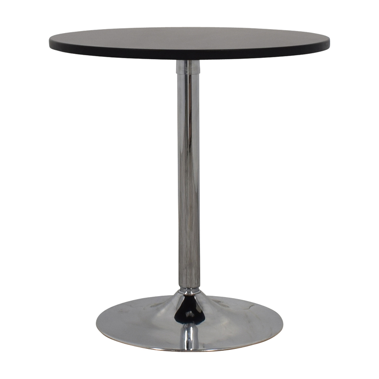 Pedestal Accent Table second hand