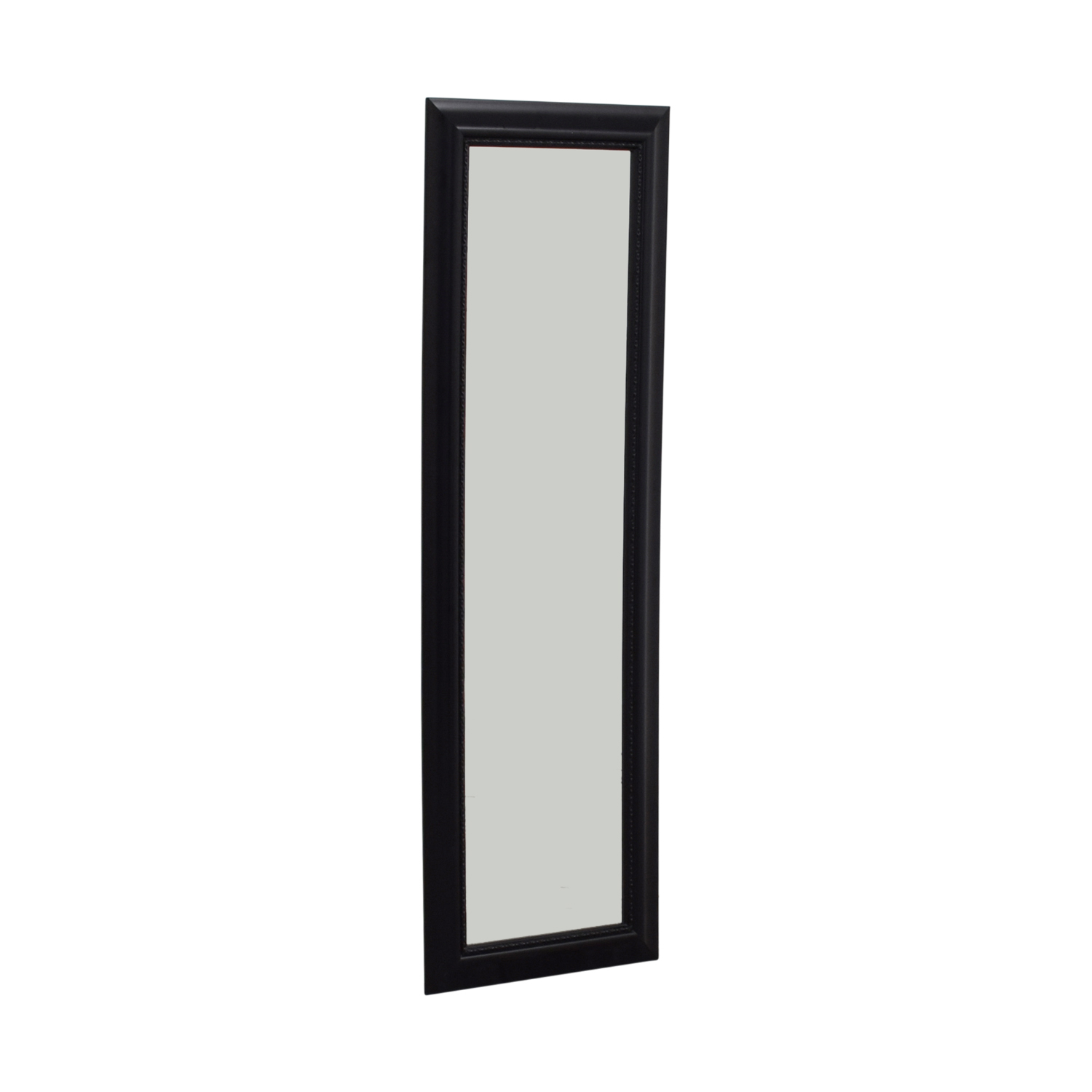 Black Framed Hanging Door Mirror on sale