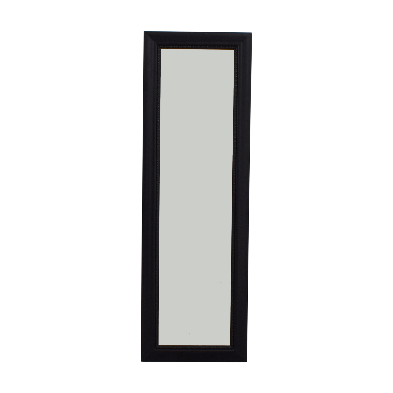 Black Framed Hanging Door Mirror nyc