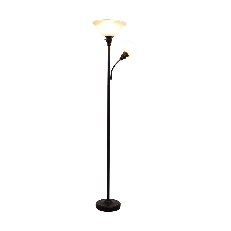 Dual Bulb Floor Lamp discount