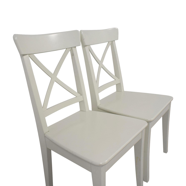 90 Off Ikea Ikea Ingolf Chairs Chairs