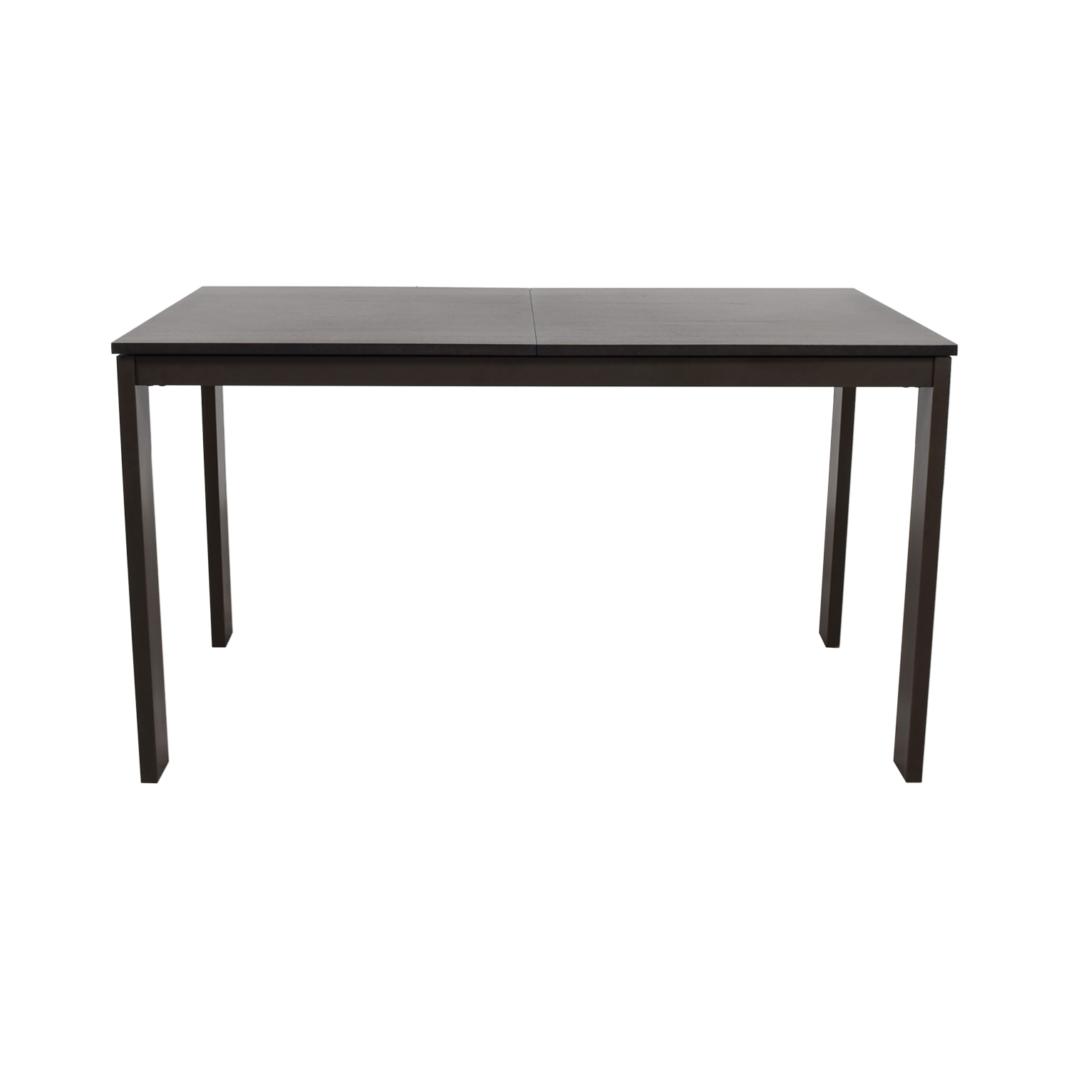 Cb2 Core Black Extension Dining Table Cb2