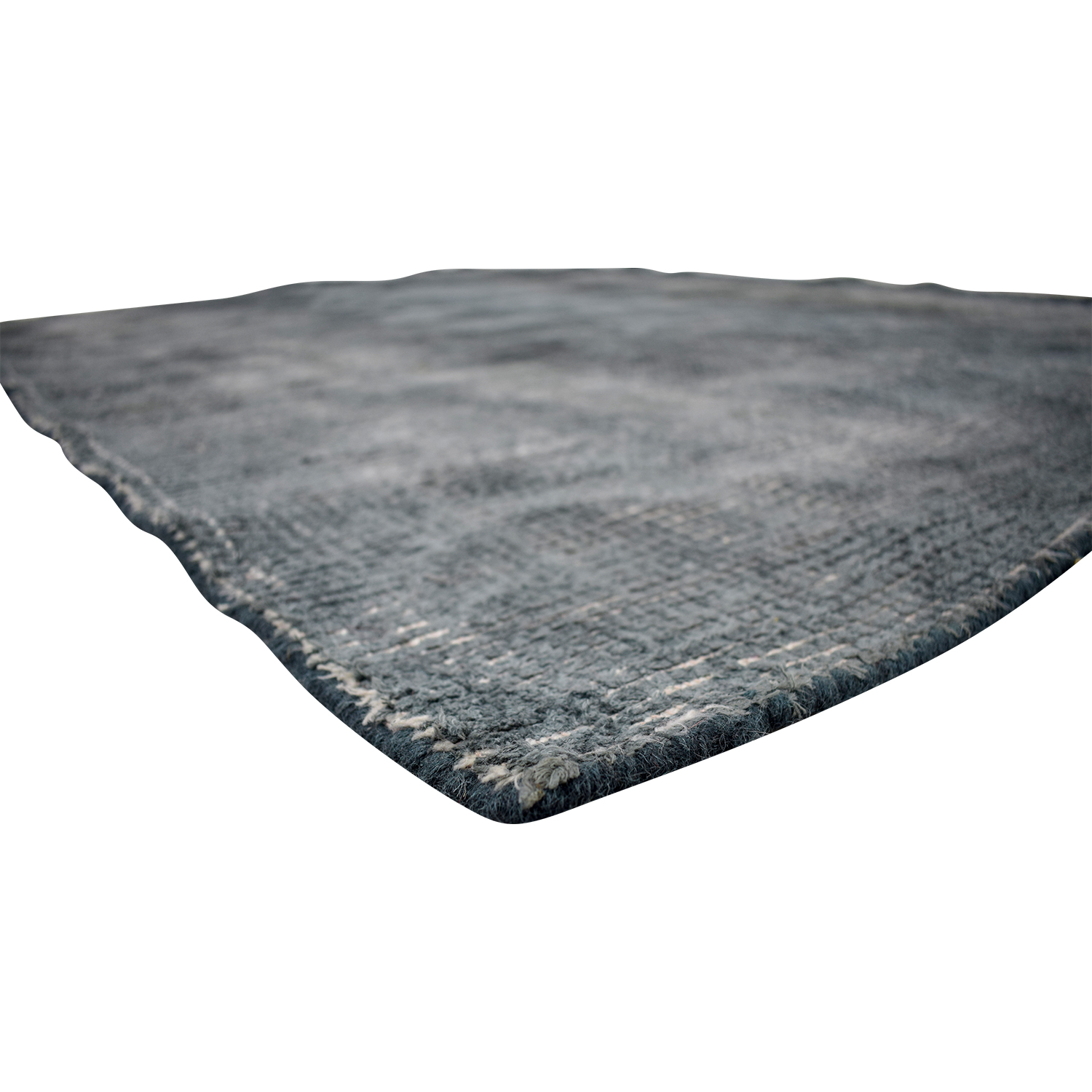 CB2 New Zealand Wool Scatter Grey Rug / Rugs