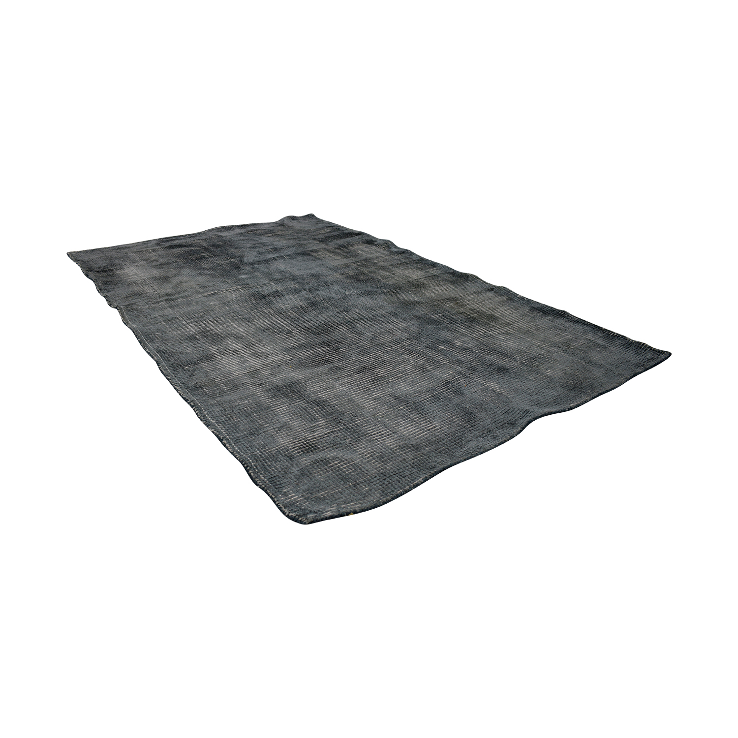 CB2 CB2 New Zealand Wool Scatter Grey Rug nyc