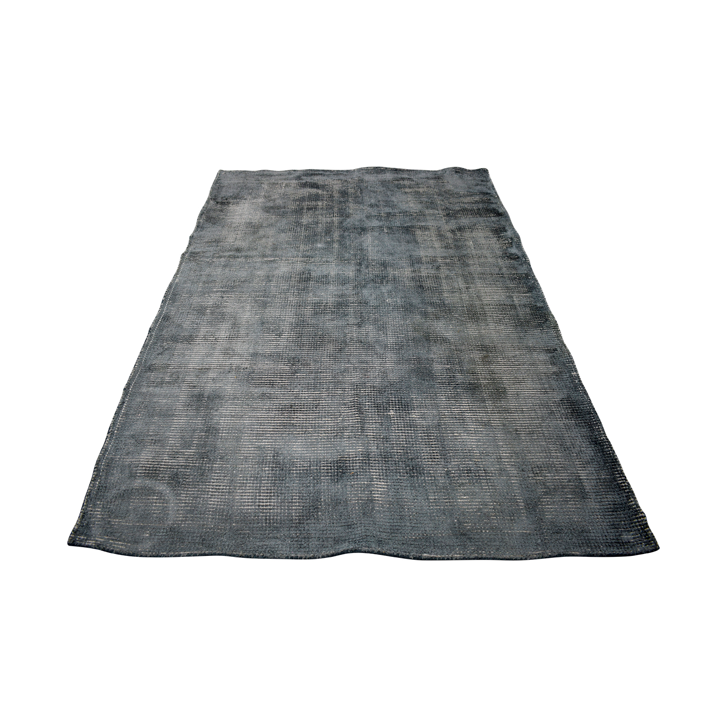 buy CB2 New Zealand Wool Scatter Grey Rug CB2 Sofas
