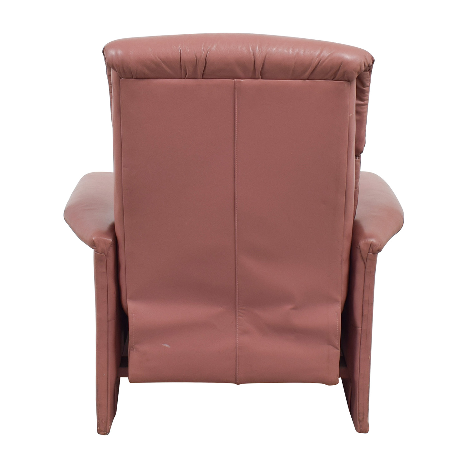 shop Salmon Leather Recliner  Chairs