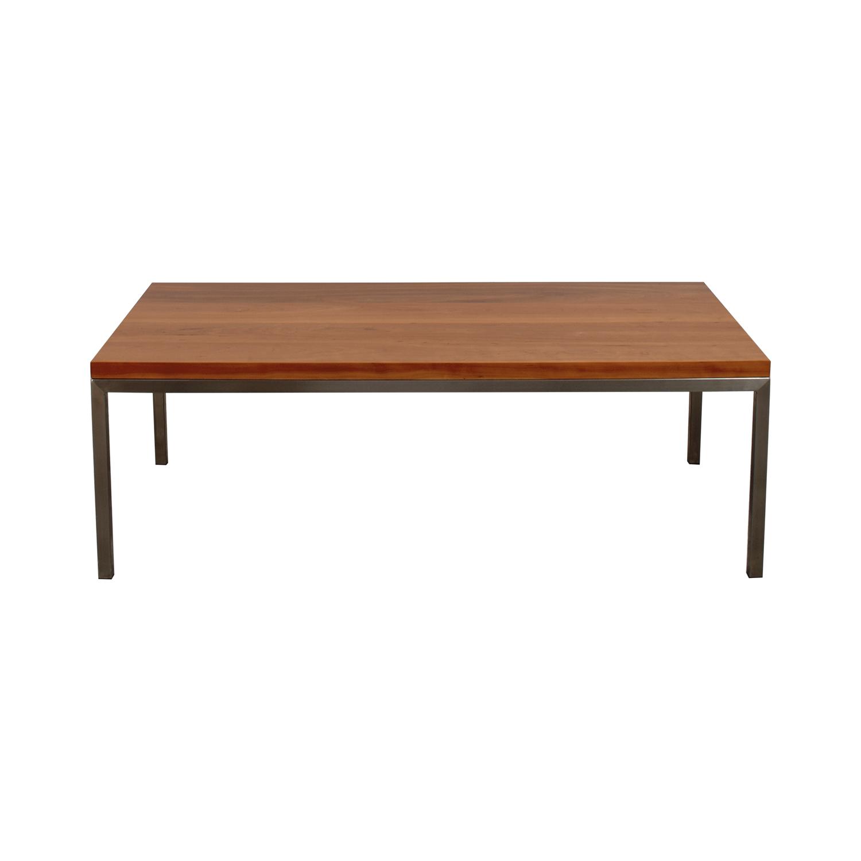 shop Room & Board Portica Cocktail Table Room & Board Coffee Tables