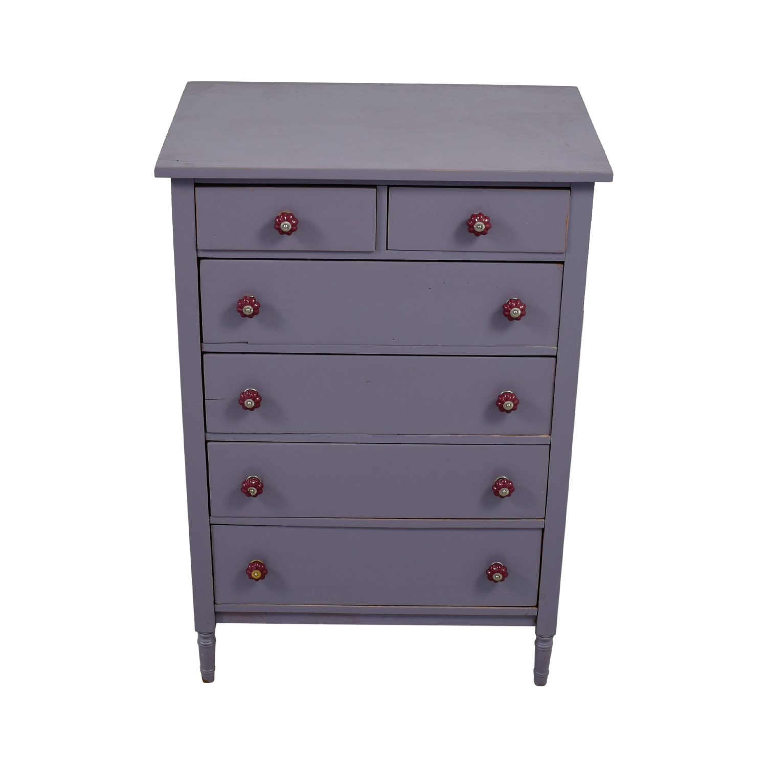 Sunshine's Lucy Sunshine's Lucy Lavender Reclaimed Wood Six-Drawer Dresser dimensions