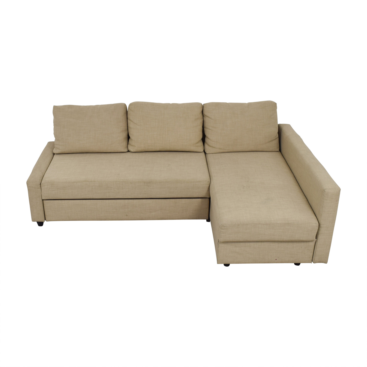 IKEA IKEA Friheten Beige Sleeper Sectional used
