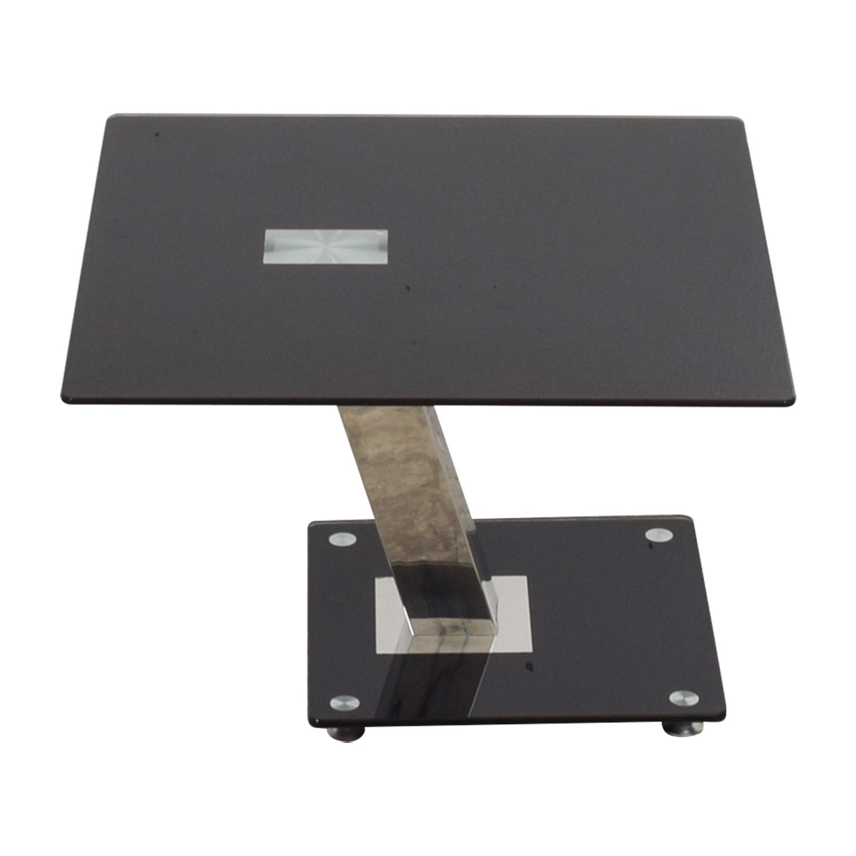 Art Deco Black End Table coupon