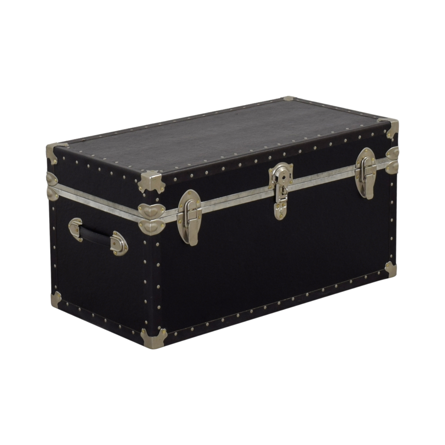 Black & Metal Trunk Storage