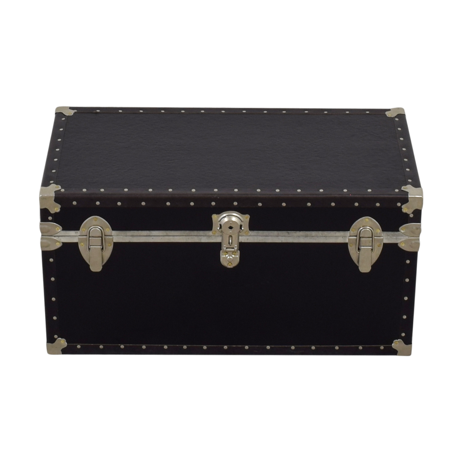 buy Black & Metal Trunk  Storage