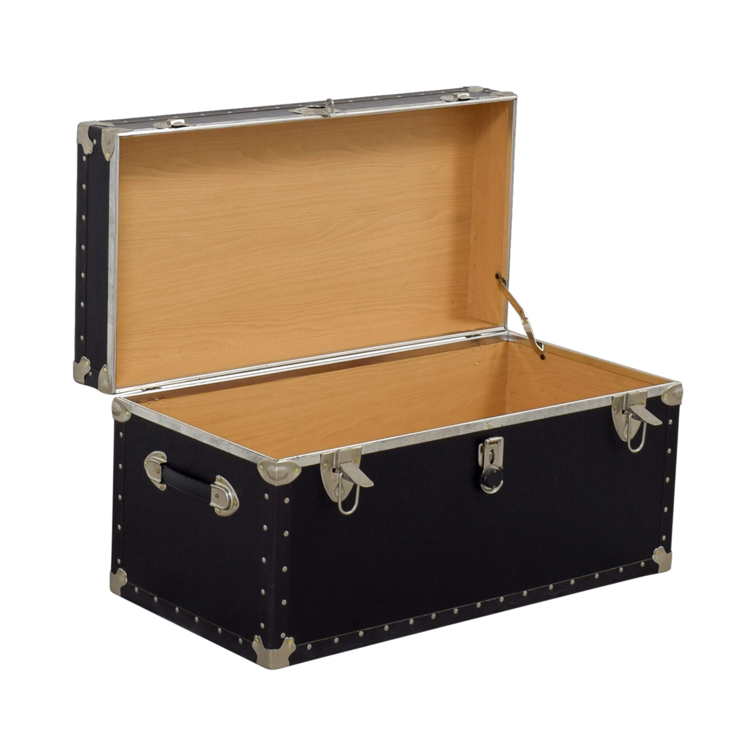 Buy Black & Metal Trunk Online
