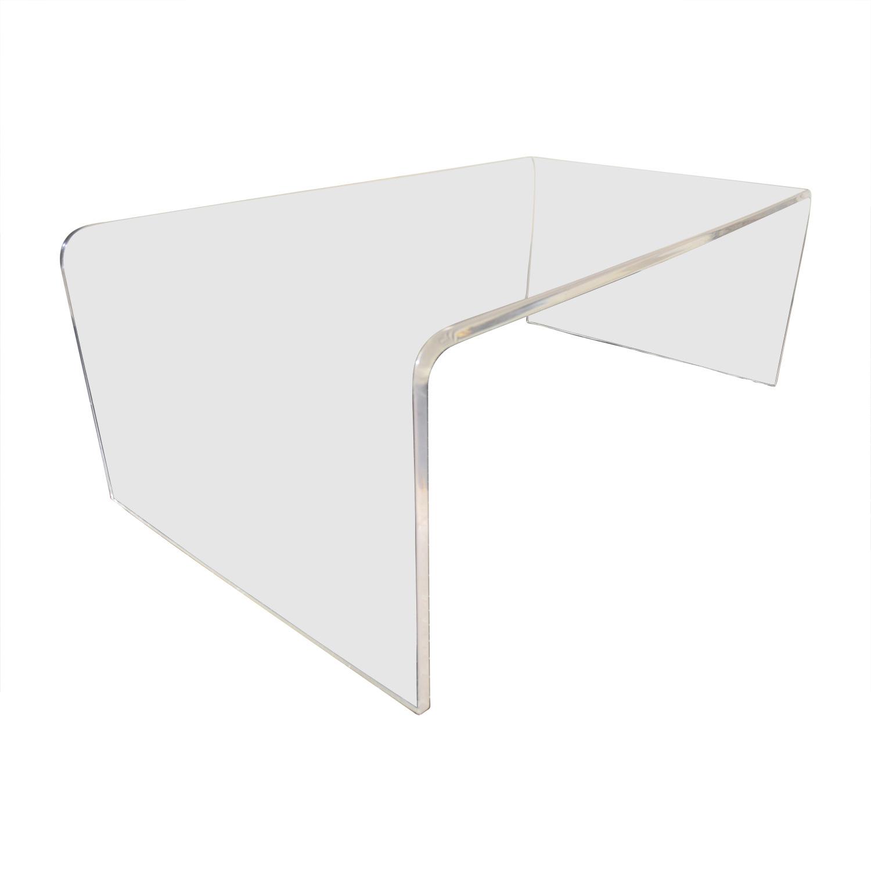 CB2 CB2 Acrylic Ghost Coffee Table / Tables