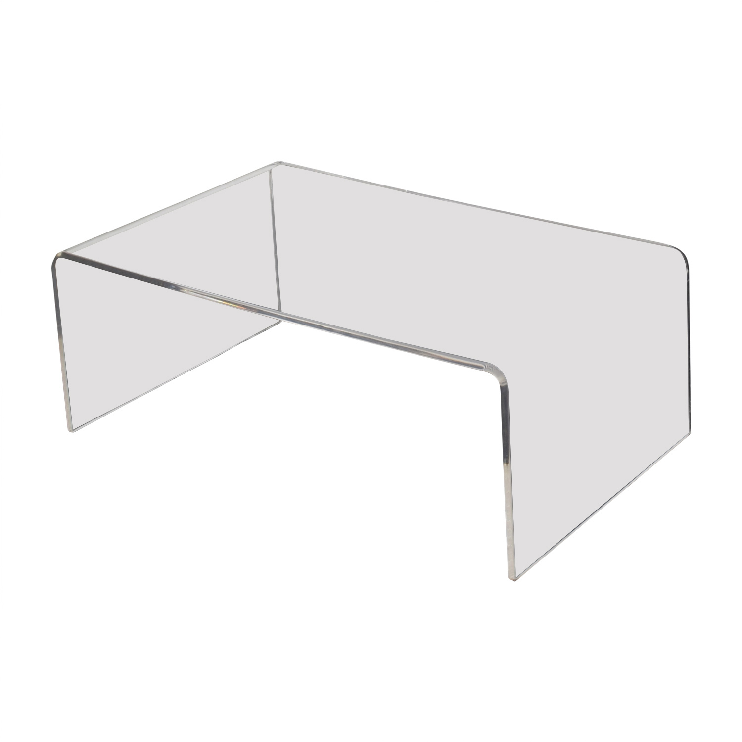 CB2 CB2 Acrylic Ghost Coffee Table discount