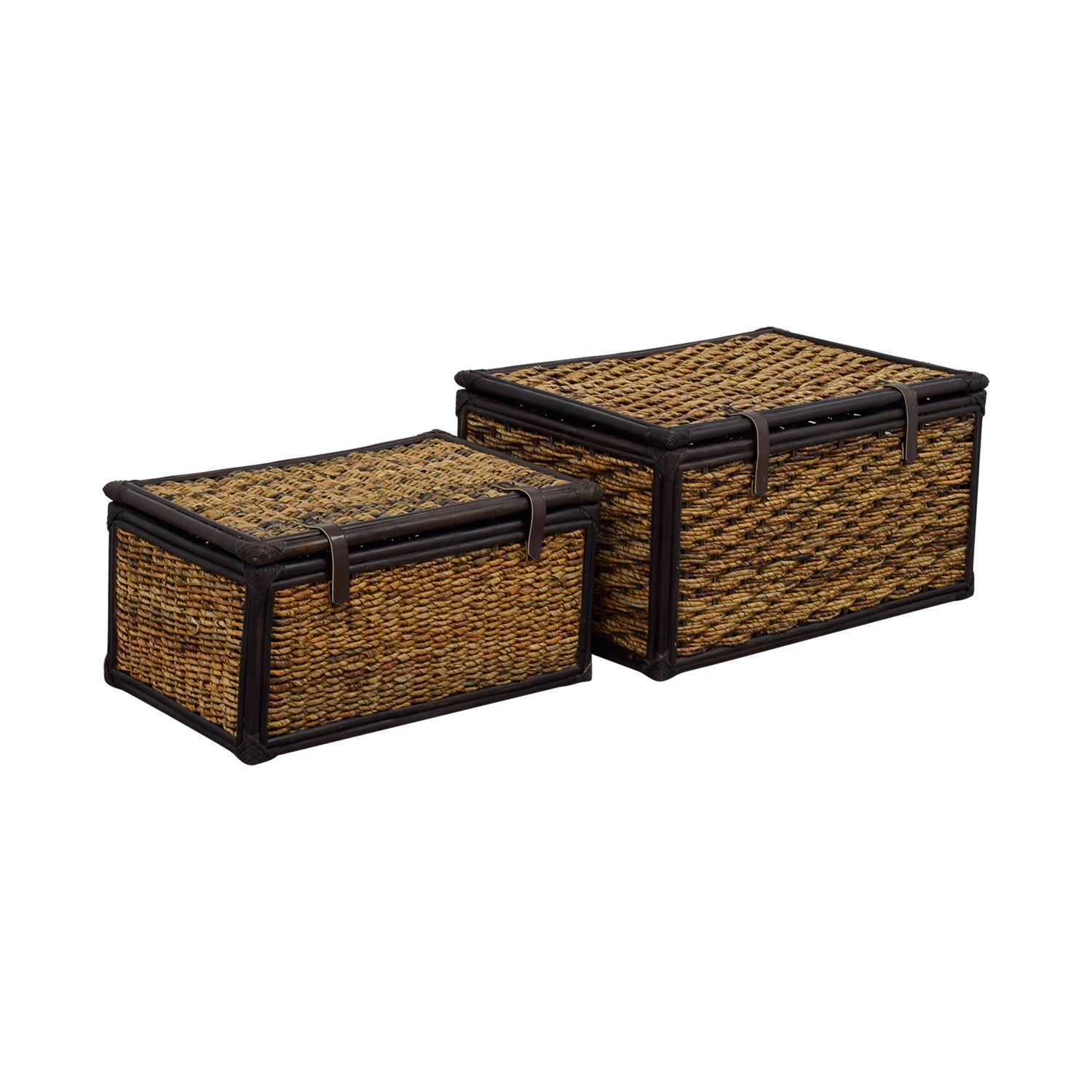 ... Ralph Lauren Ralph Lauren Wicker Baskets Brown ...