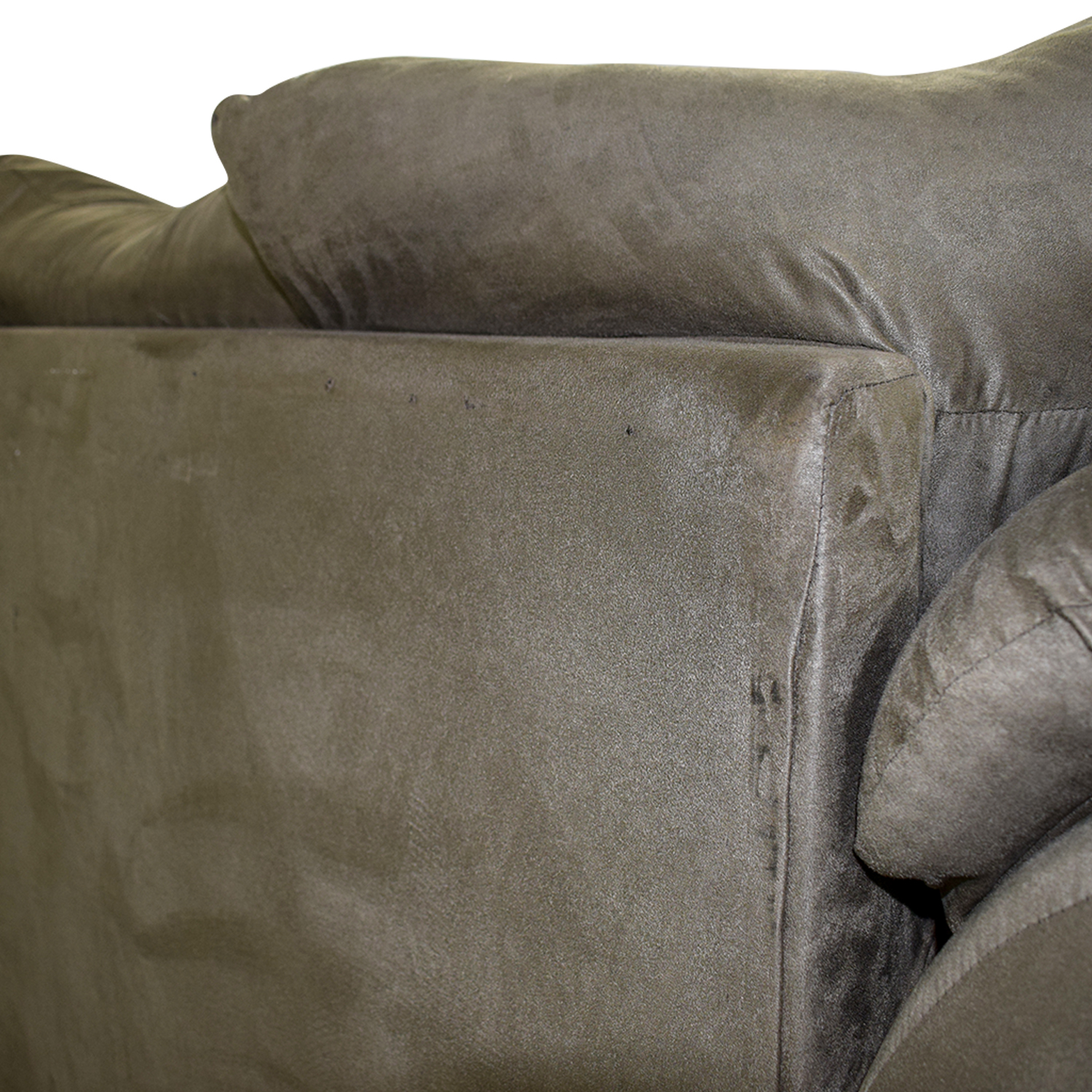 Forest Green Two-Cushion Loveseat nyc