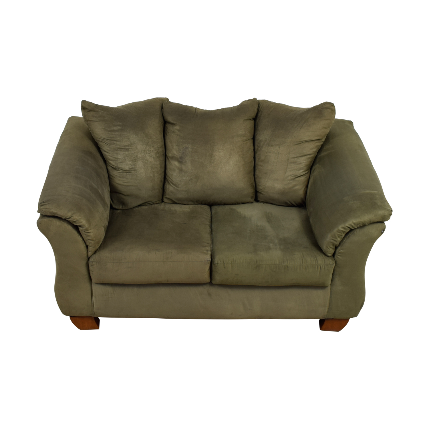 buy  Forest Green Two-Cushion Loveseat online